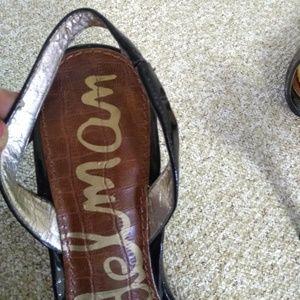 Sam Edelman Shoes - Sam Edelman Orly Black Patent Leather Shoes